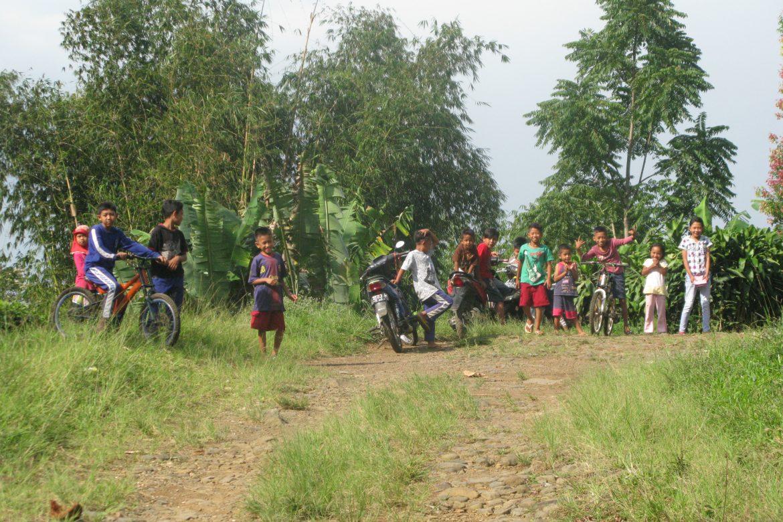 Cianjur: weg van de gebaande paden