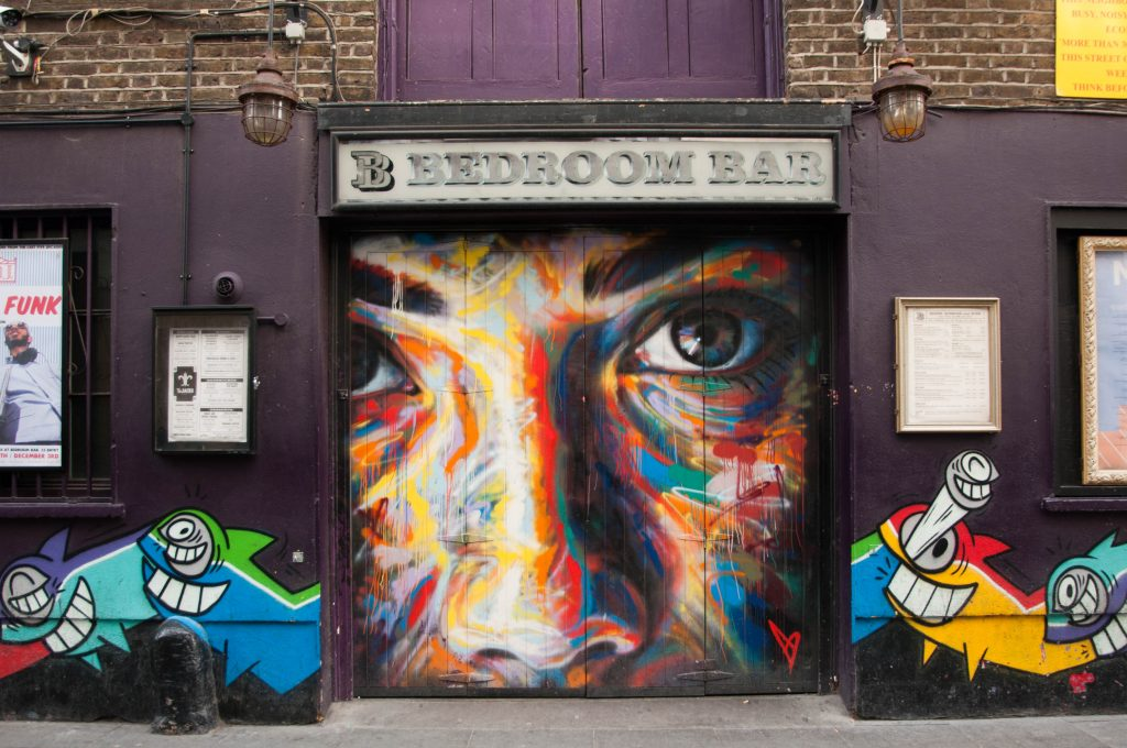 Street art Shoreditch Londen
