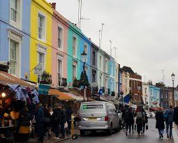 Kleurrijk Notting Hill, de charmantste wijk van Londen