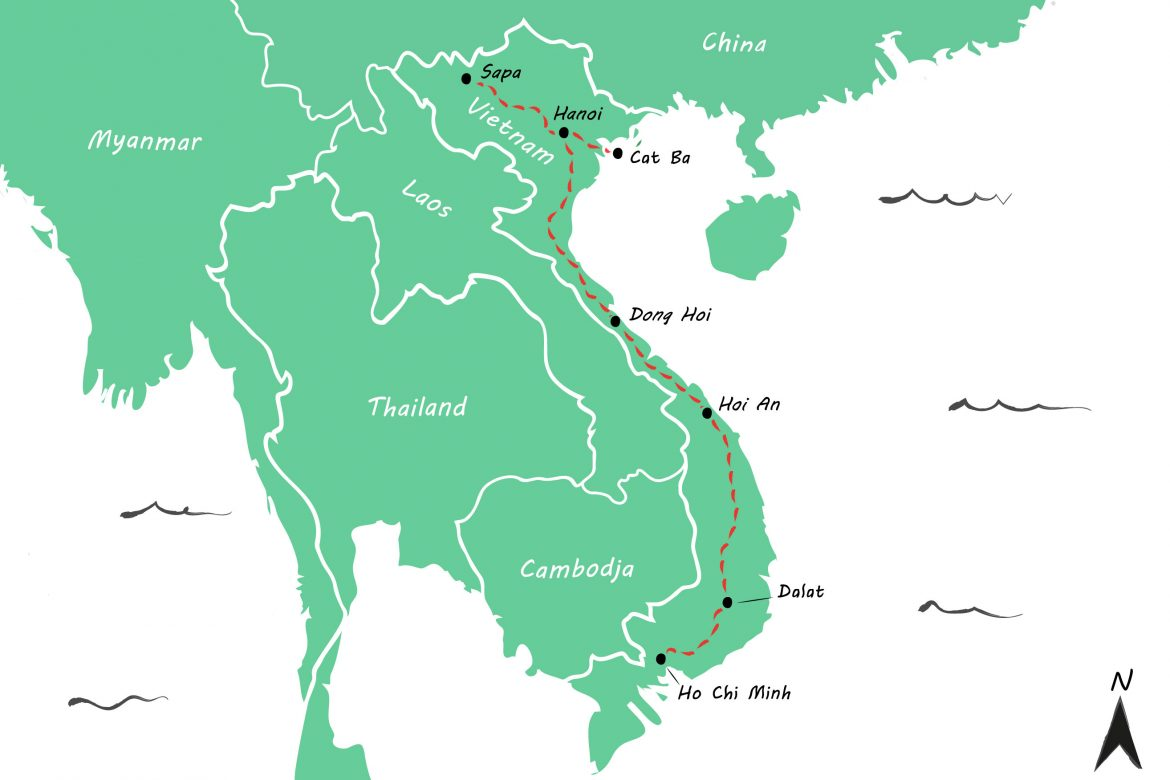 Backpackroute Vietnam: een rondreis van 3 weken + tips
