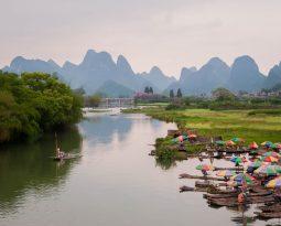 De betovering van magisch Yangshuo, China