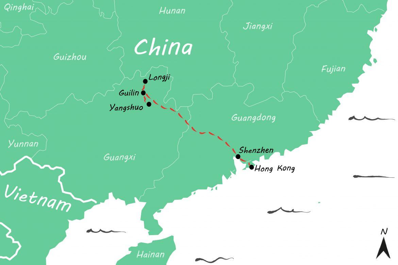 Onze reisroute door China: twee weken backpacken