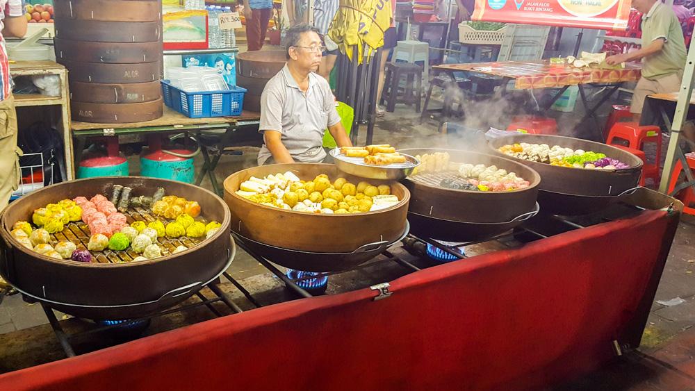Jalan Alor, de lekkerste kennismaking met Kuala Lumpur