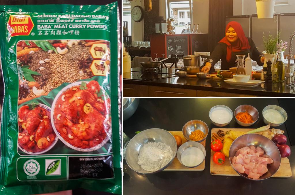 Maleisische kipcurry