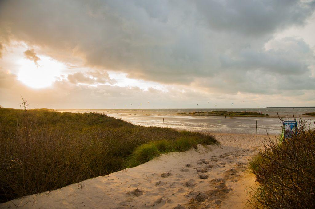 tips voor Rockanje - uitzicht op het strand