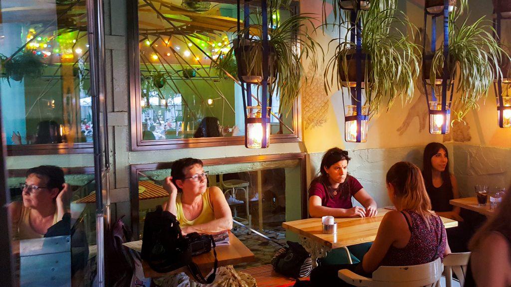 eten in Madrid bij het hippe restaurant Ojala