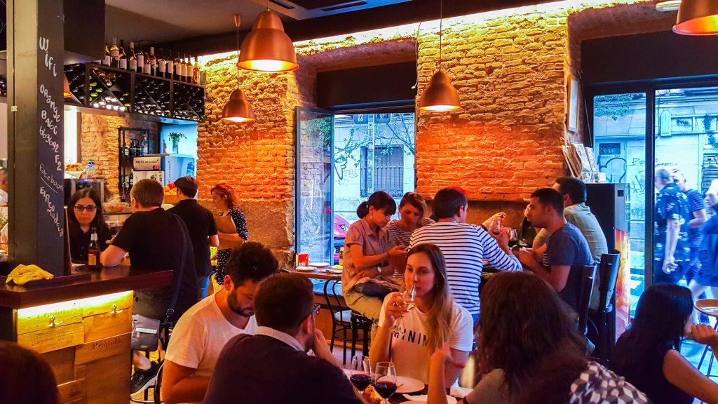 eten in Madrid bij het lokale restaurant El Pico
