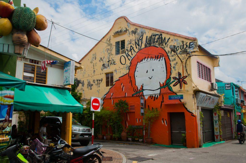 Tips voor Malakka - Orang oetang house