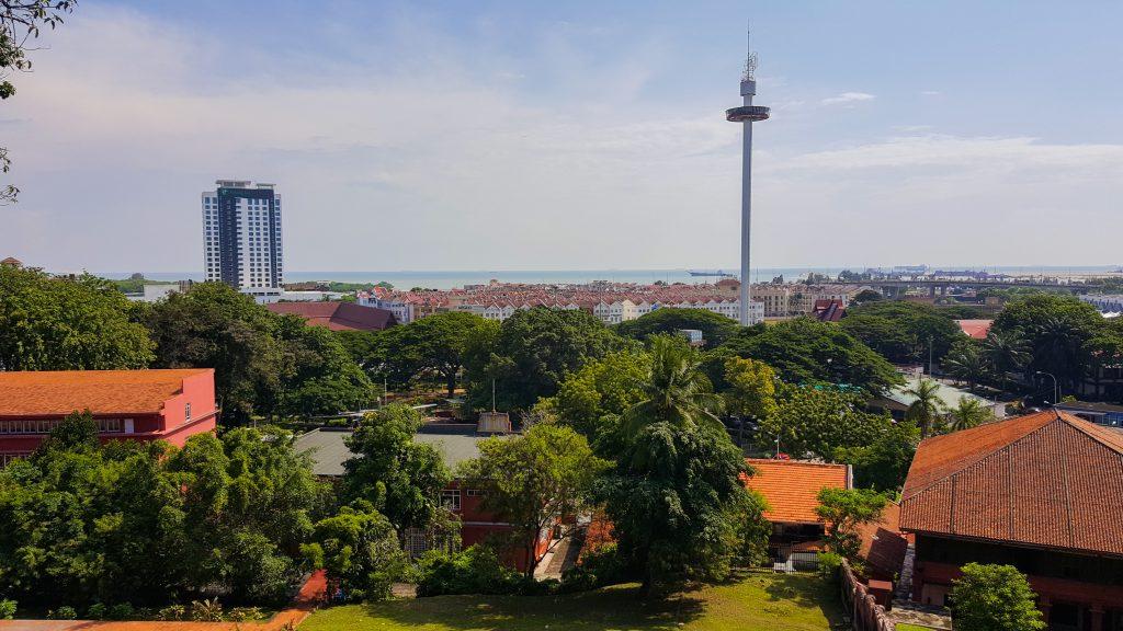 Tips voor Malakka - Uitzicht vanaf St. Paul's Church