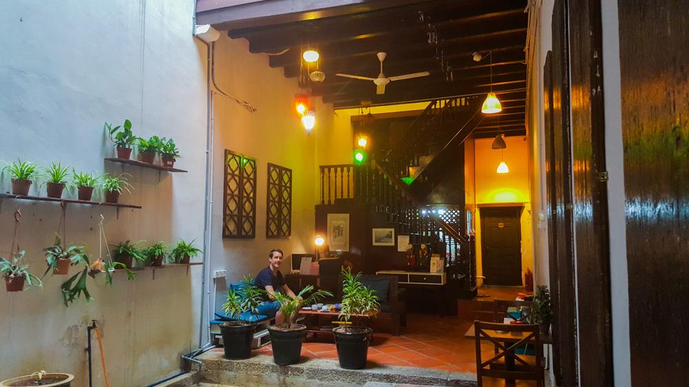 accomodaties in Maleisië - het guesthouse in Georgetown