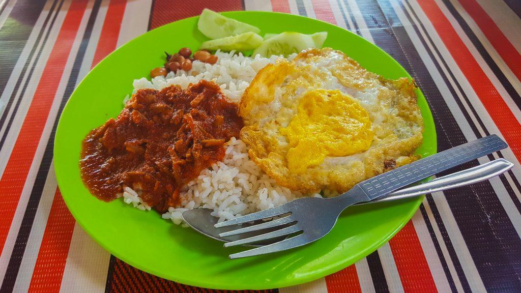 gerechten uit Maleisië - Nasi Lemak