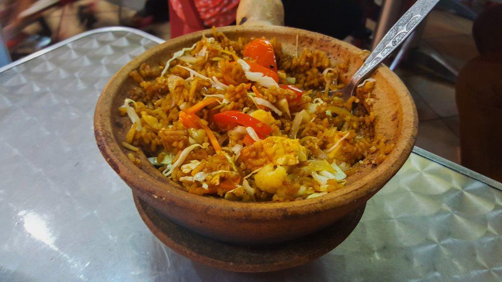 gerechten uit Maleisië - Claypot Rice
