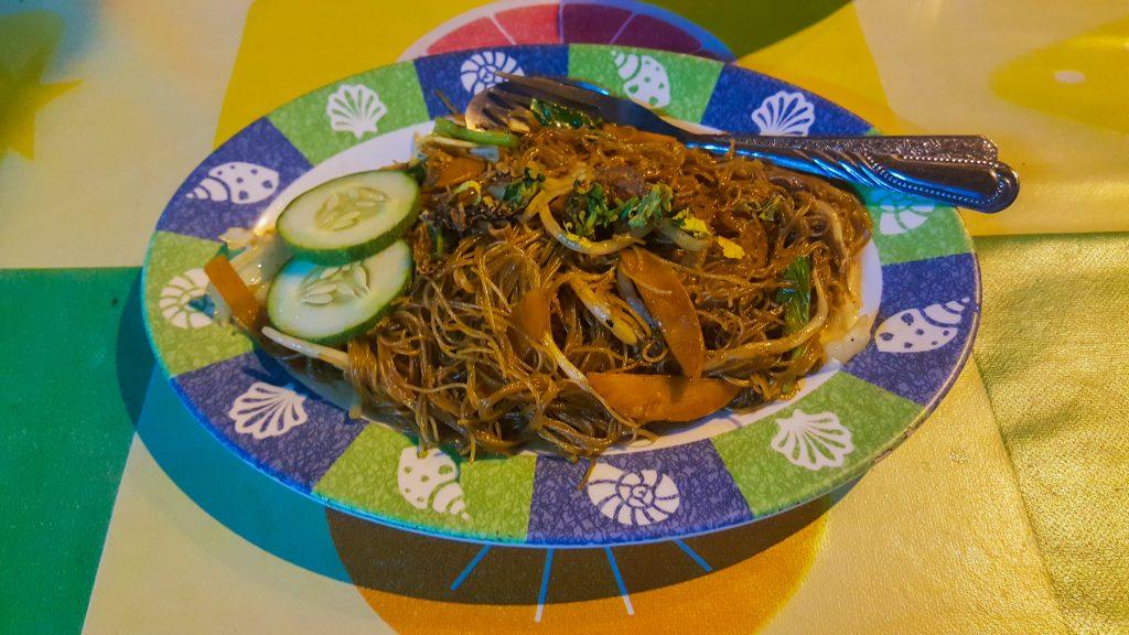 gerechten uit Maleisië - Mihoen Goreng