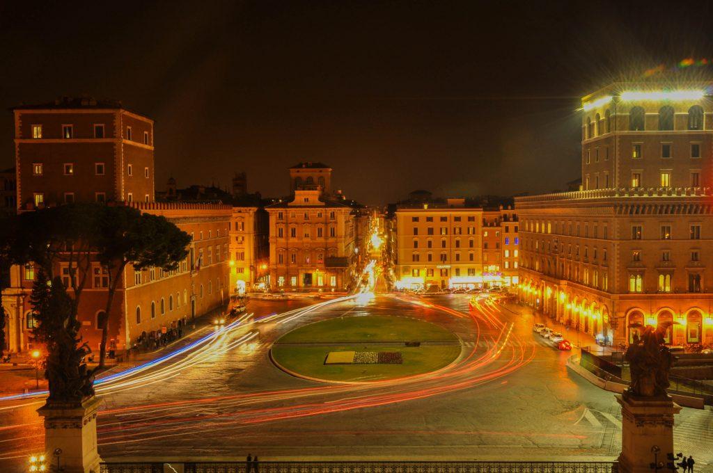 statief meeneem op reis - Rome