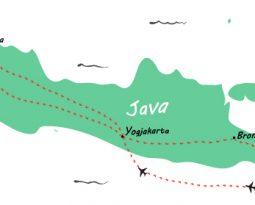 Backpack route door Indonesië: een reis van 3,5 week over Java en Bali