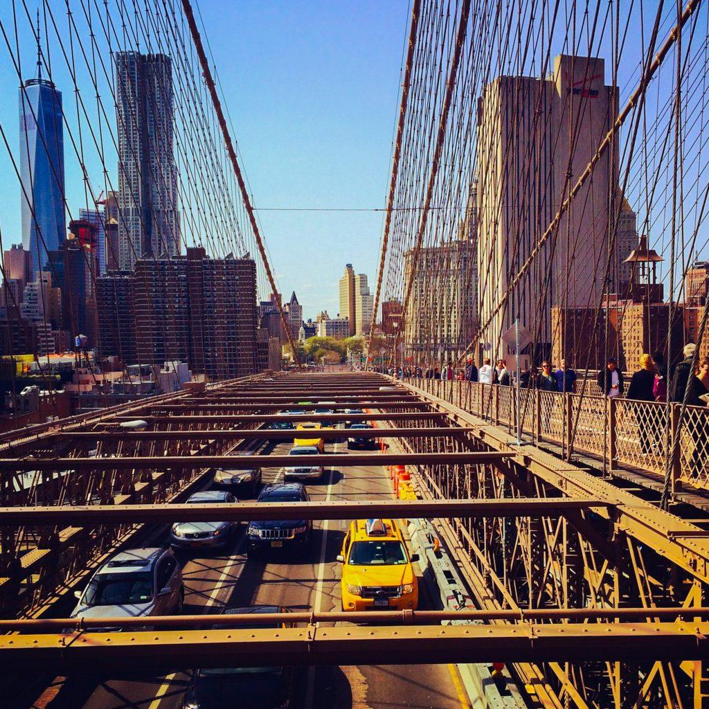 gratis in New York - Brooklyn Bridge