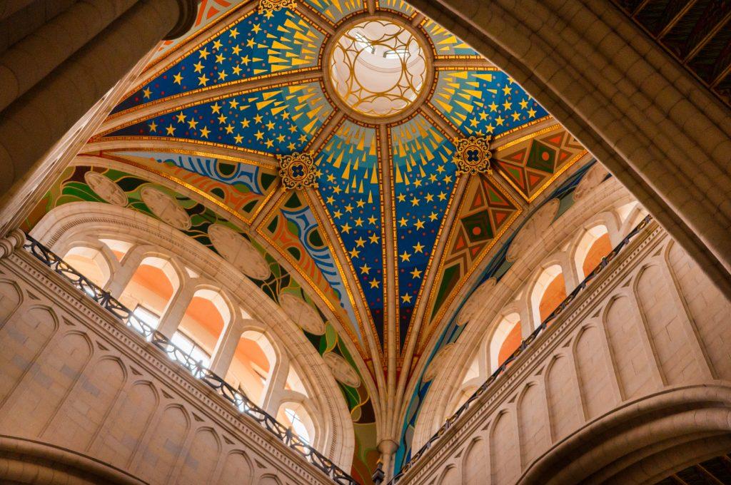 statief meeneem op reis - Almudena Kathedraal in Madrid