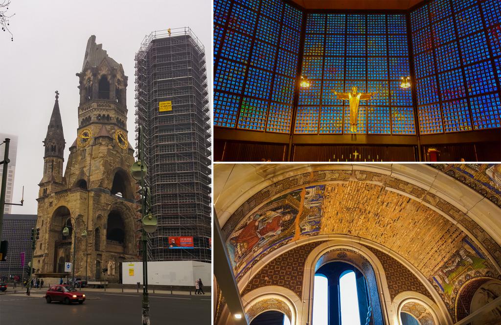 hoogtepunten in Berlijn - Gedächtniskirche