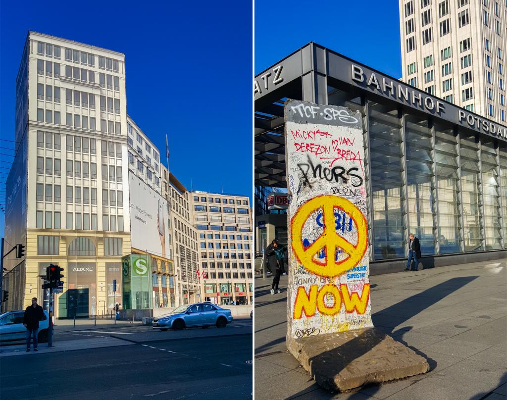 hoogtepunten in Berlijn - Postdamer Platz