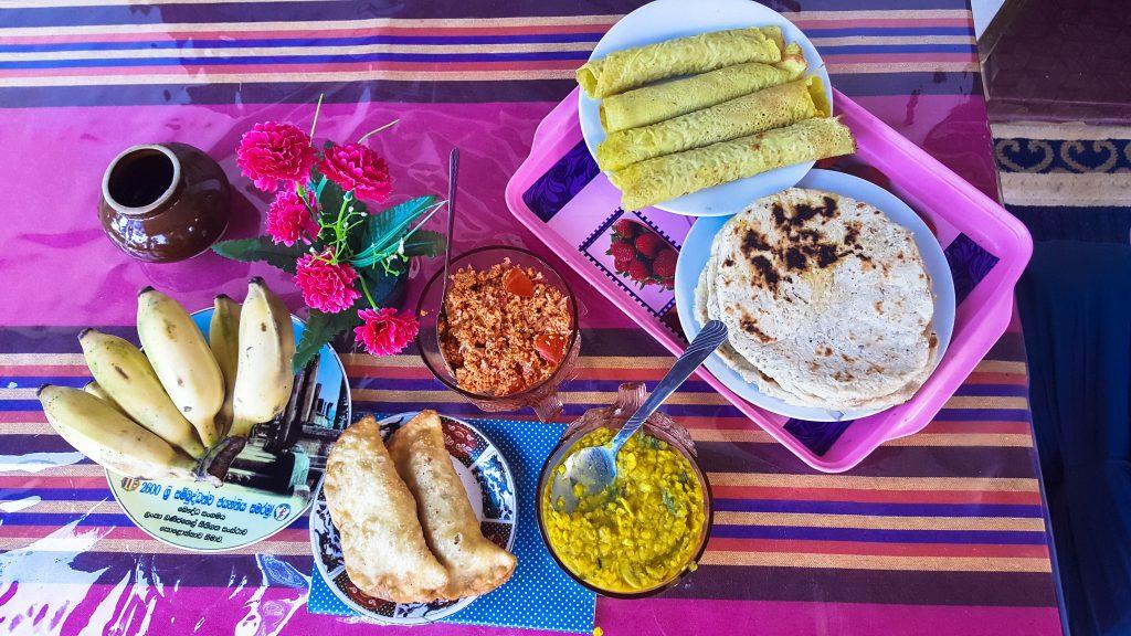 doen in Sri Lanka - eten