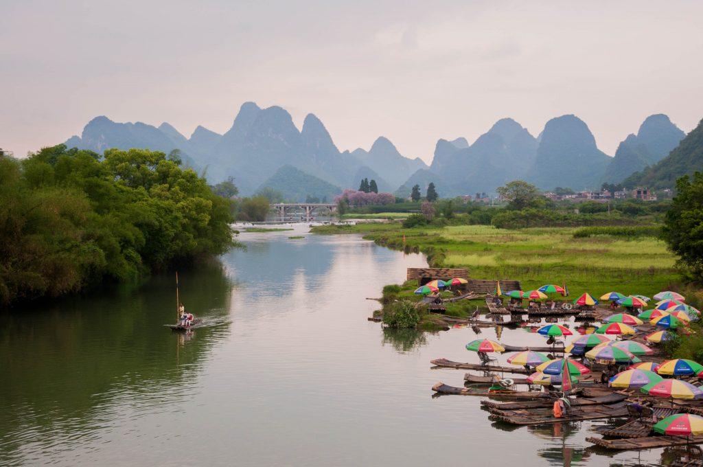 redenen om china op je bucketlist te zetten - karstgebergten van Yanshuo