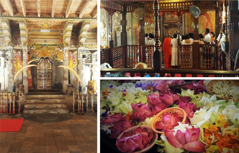 doen in Sri Lanka - Tempel van de tand Kandy