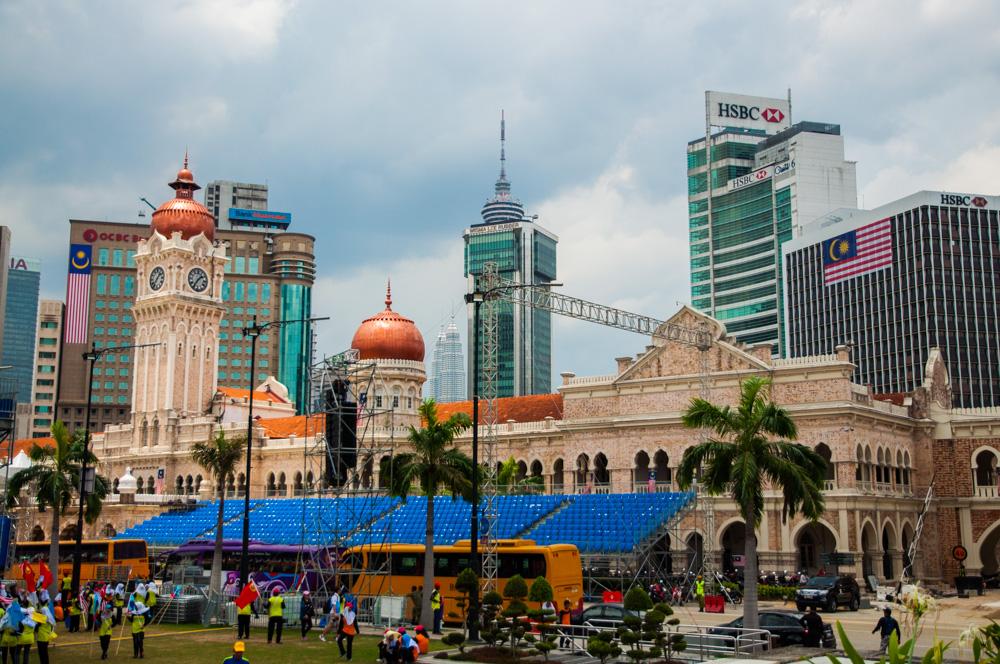 doen in Kuala Lumpur - Merdeka Square