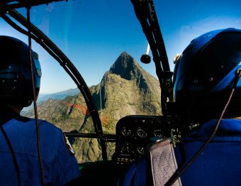 Die keer dat ik met een helikopter uit de bergen werd gehaald