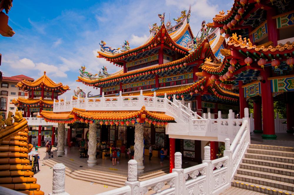 doen in Kuala Lumpur Kuala Lumpur - Thean Hou Tempel