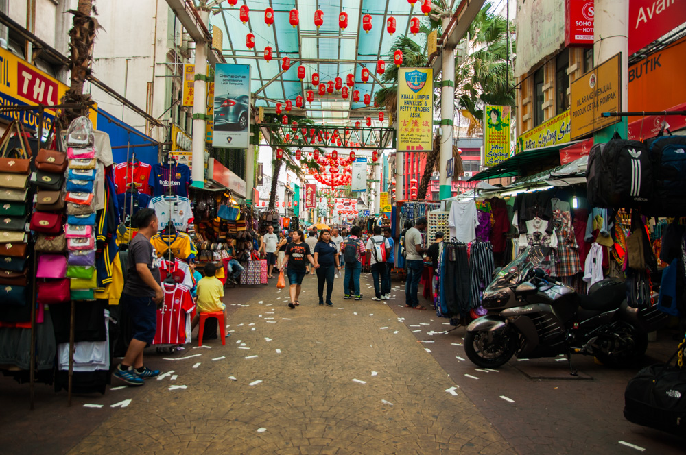 doen in Kuala Lumpur - Chinatown