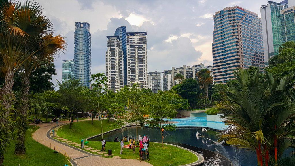 doen in Kuala Lumpur - KLCC Park