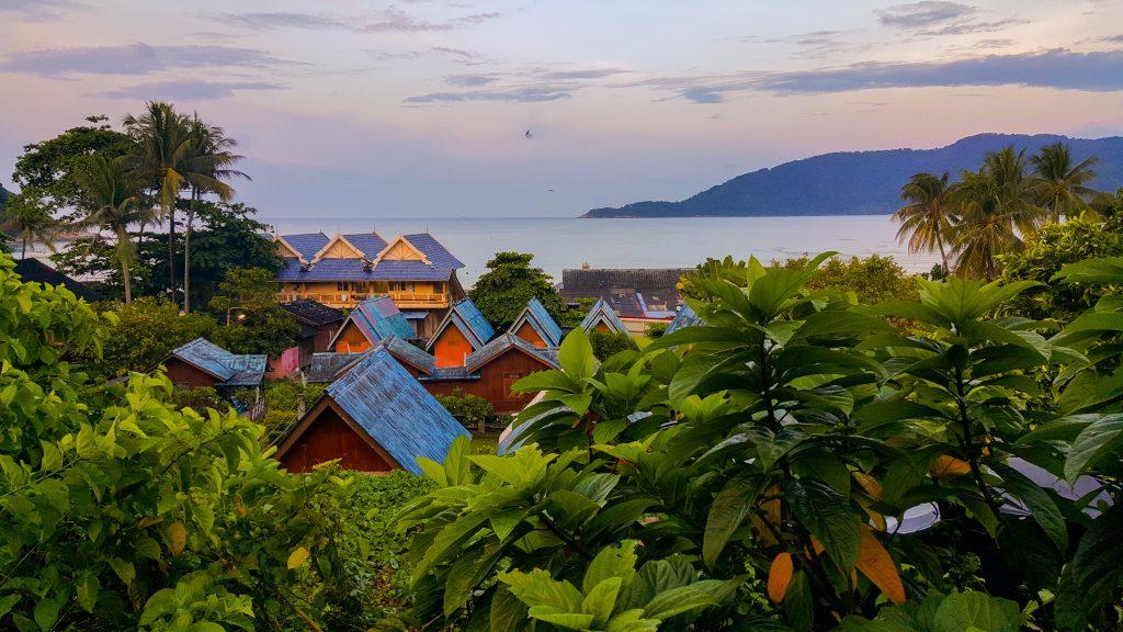 backpacken in Maleisië - accommodatie Perhentian Islands