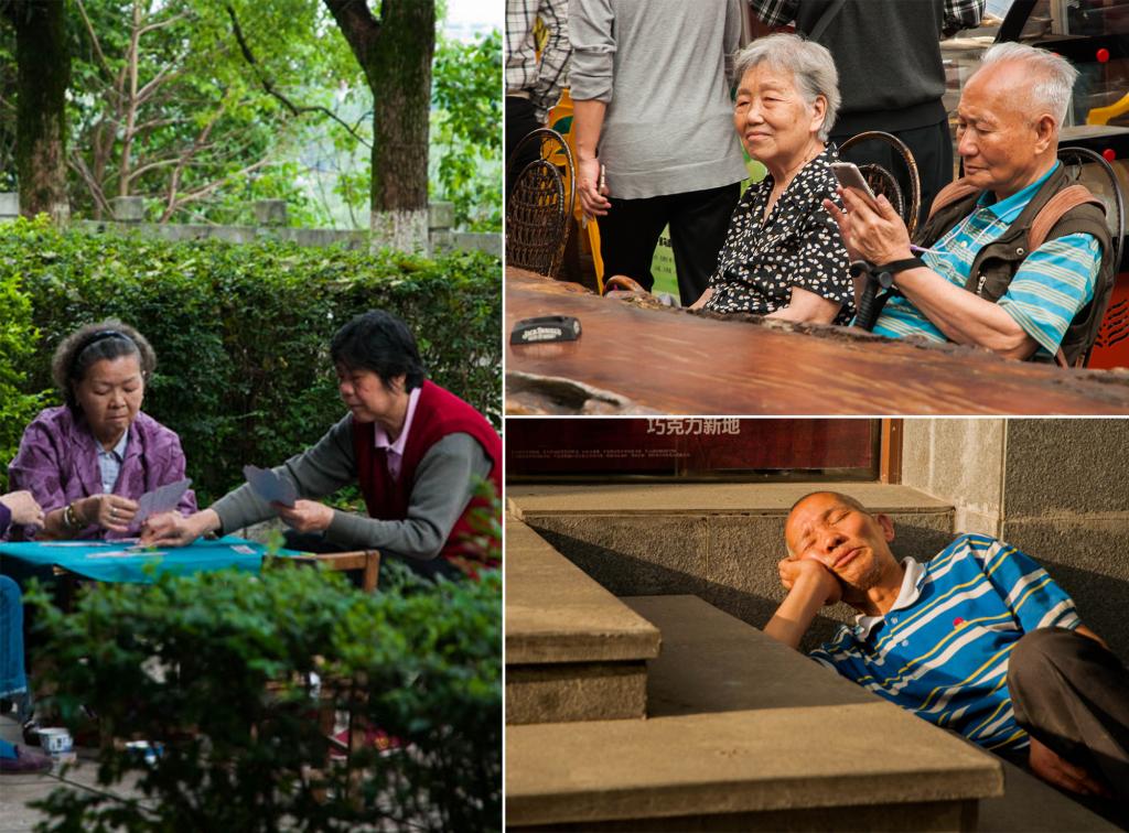 redenen om china op je bucketlist te zetten - mensen kijken