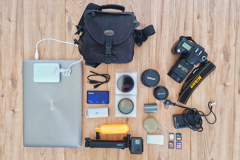 Tips voor reisfotografie #3: Welke camera apparatuur gaat mee op reis?