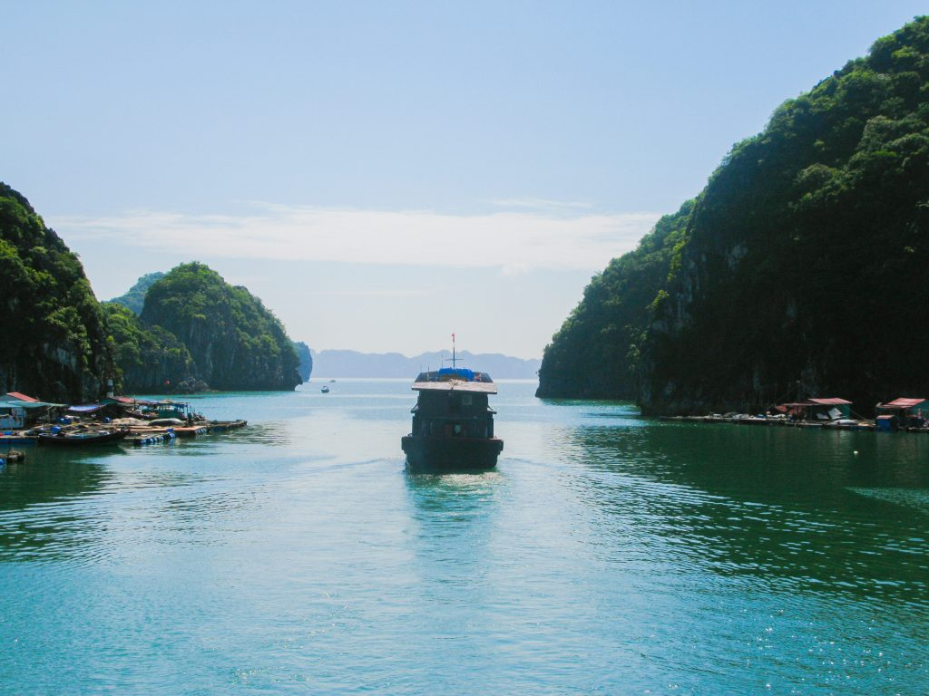 doen in Vietnam - Halong Bay