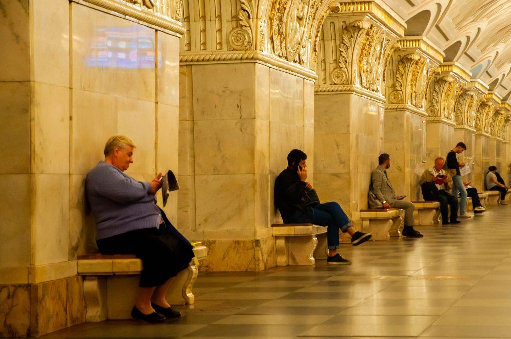 metrostations van Moskou