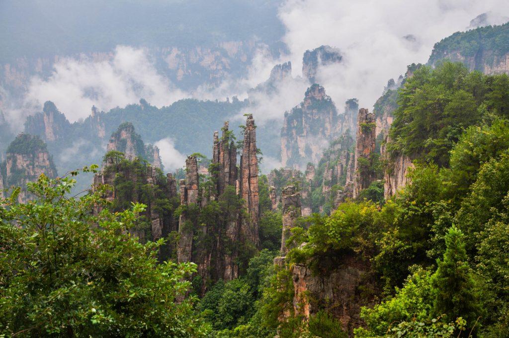 budget voor China - Zhangjiajie Nationaal Park