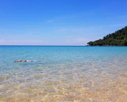 Sunset Beach op Koh Rong Samloem: een klein paradijs in Cambodja