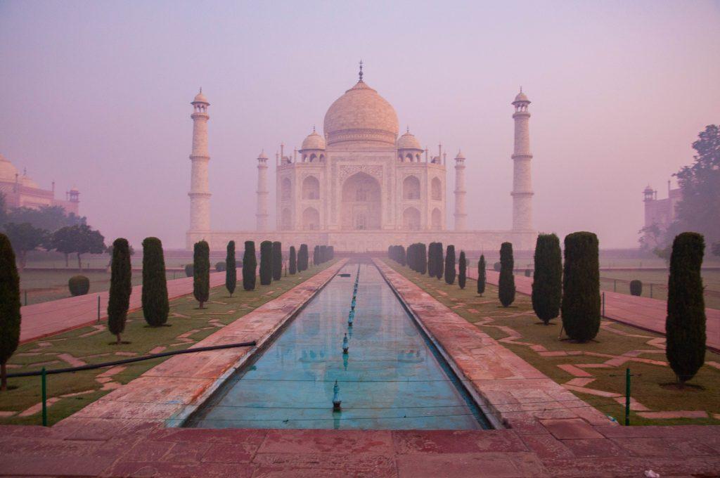 Taj Mahal zonder mensen