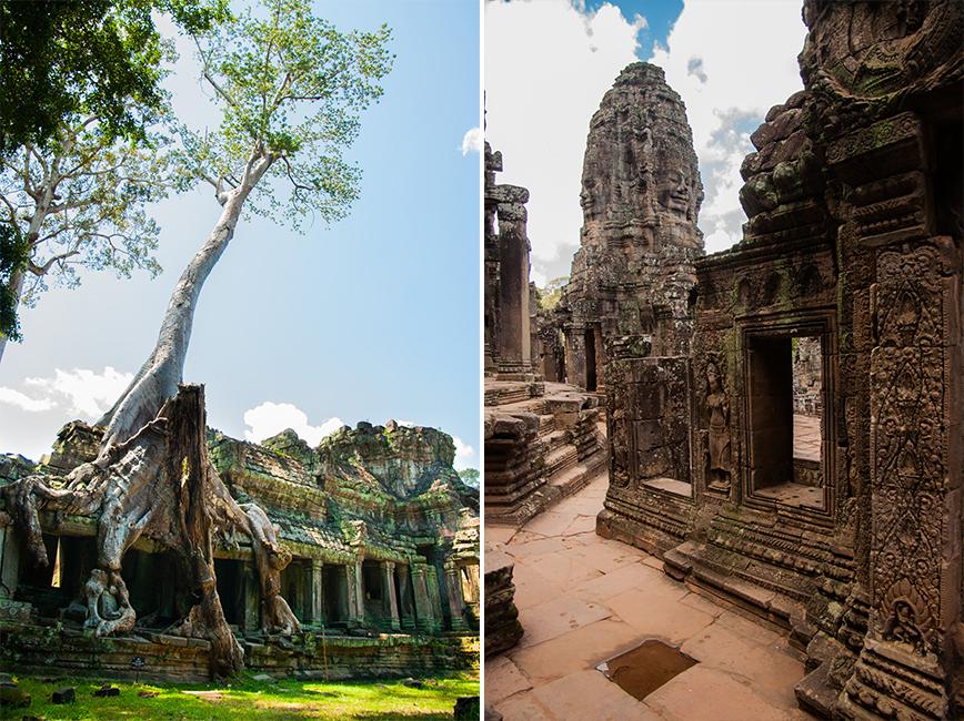Budget Cambodja - Tempels Angkor