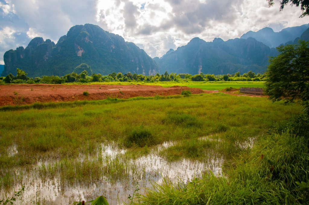 backpackroute Laos - Vang Vieng