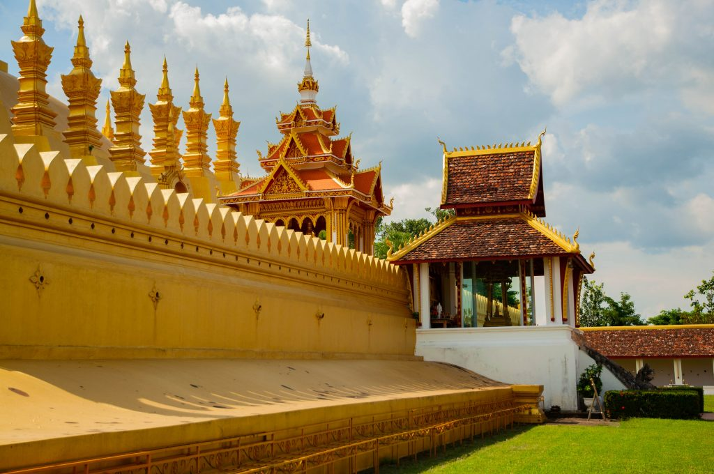 backpackroute Laos - Vientiane