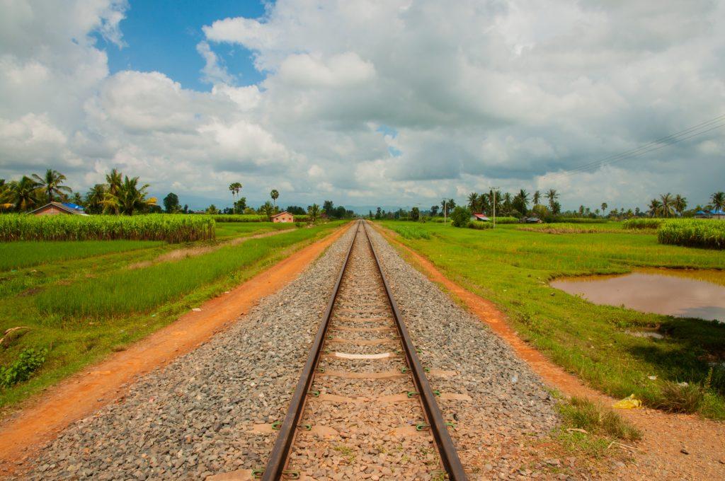 Budget Cambodja - treinspoor