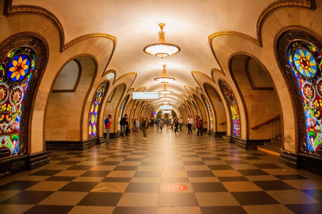 gratis bezienswaardigheden in Moskou Metro