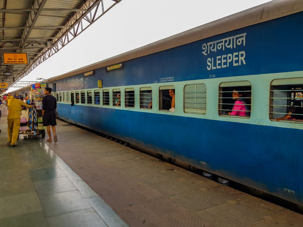 Budget India trein