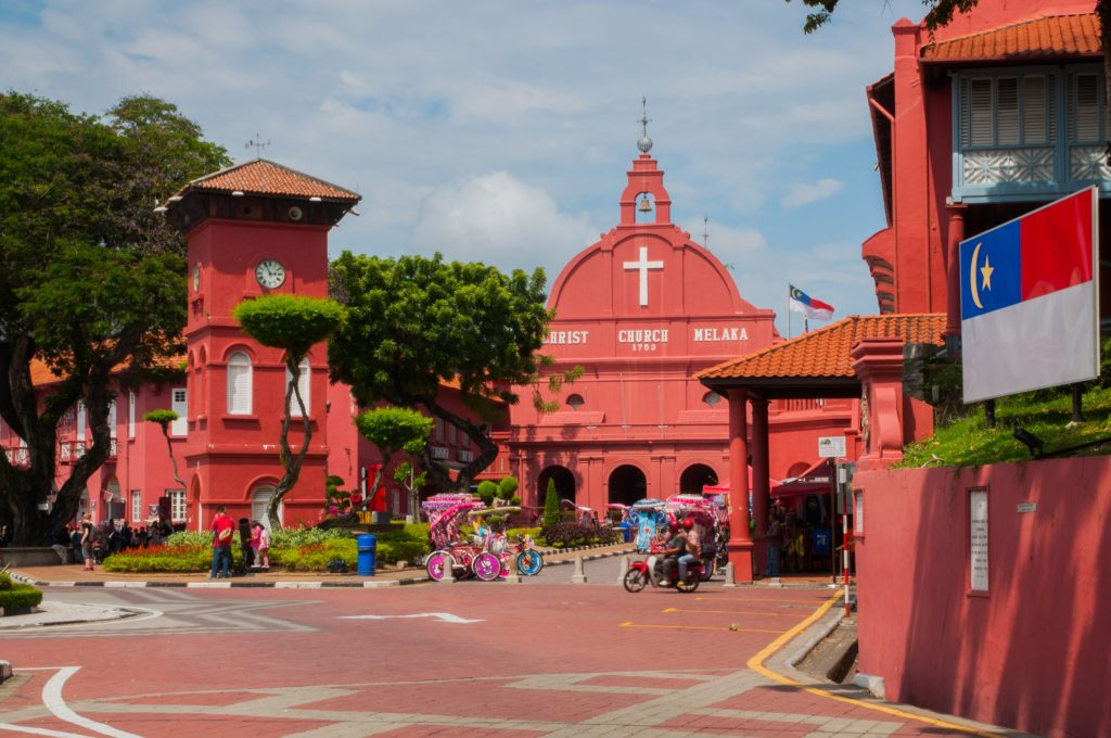 wat te doen in Maleisië - stadthuys Malakka