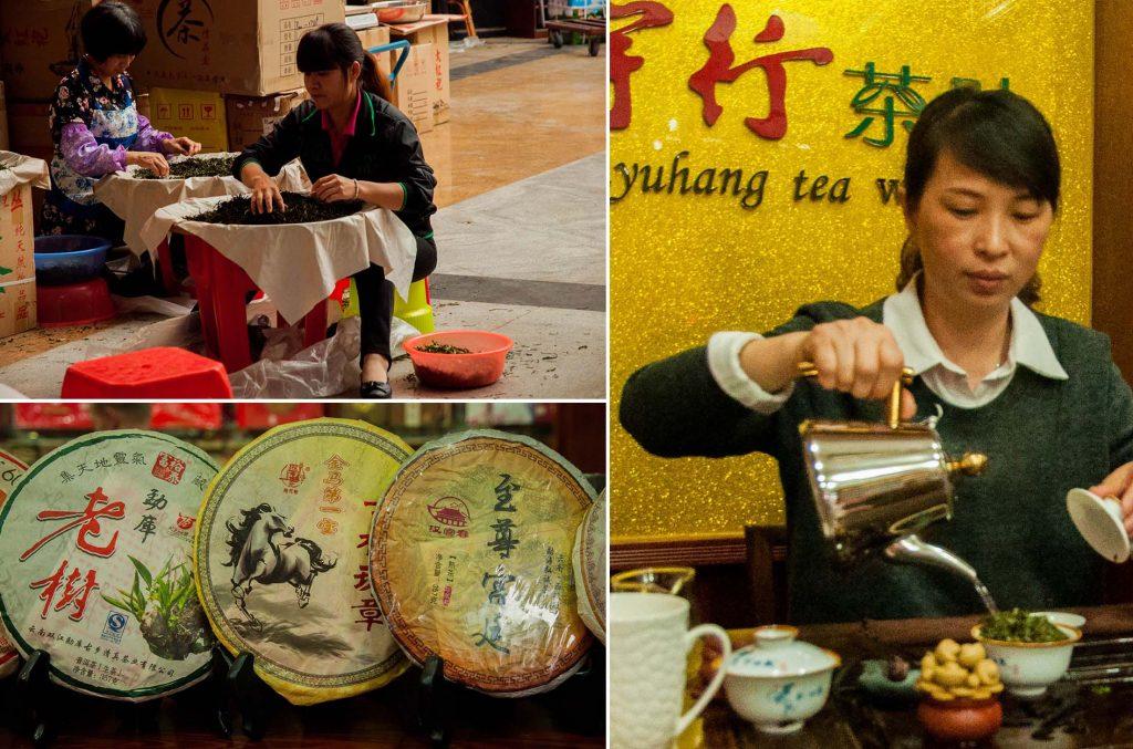 doen in China - theemarkt