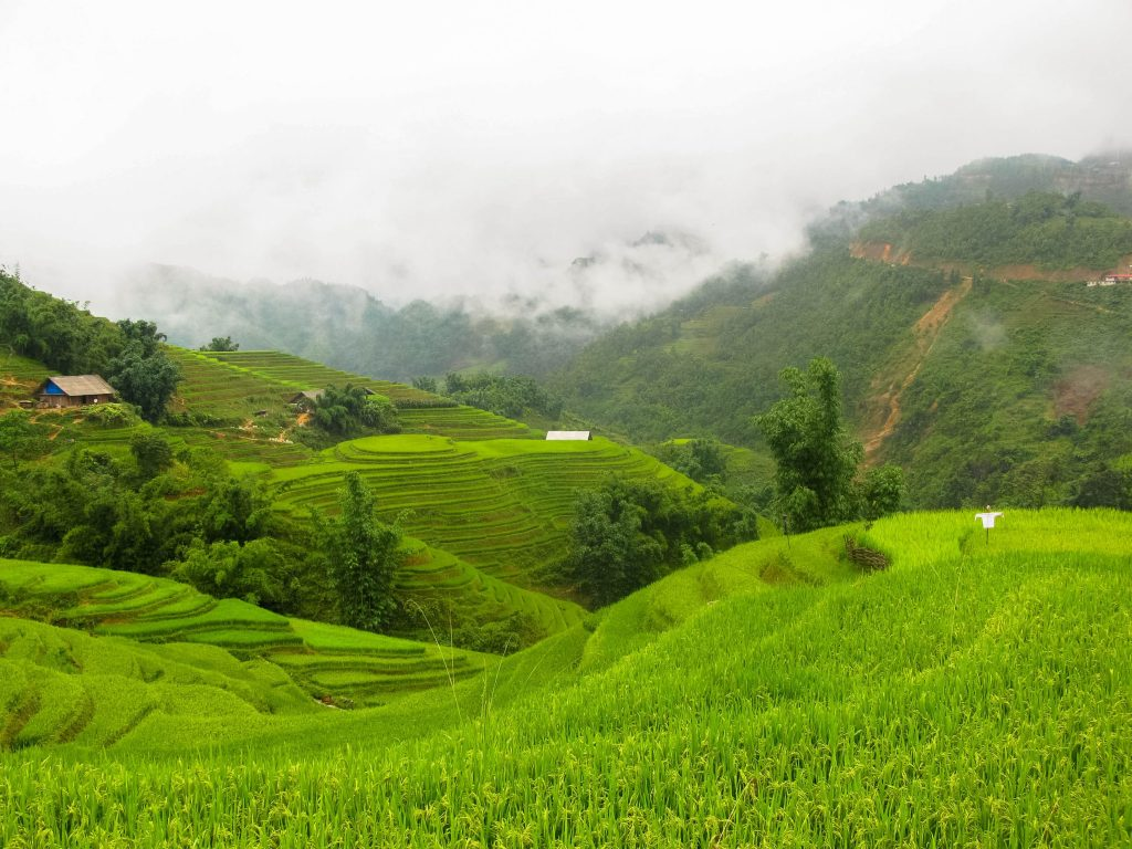 reizen tijdens het regenseizoen in Azië