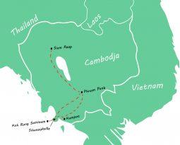 Backpackroute Cambodja: een rondreis van 2 weken