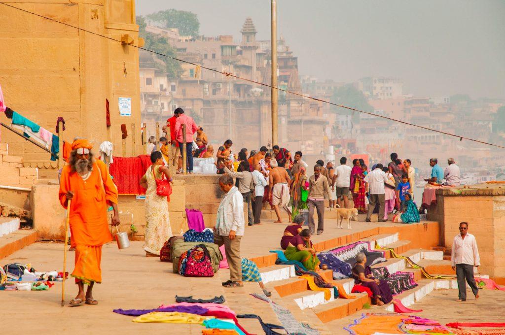 Eerste keer India - Varanasi